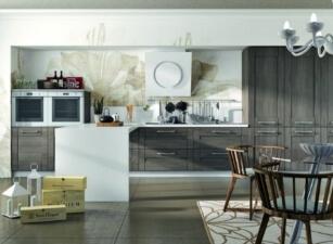 кухня неоклассика 095а