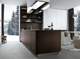 кухня в скандинавском стиле 001а