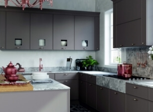 кухня в скандинавском стиле 007а