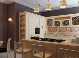 кухня в скандинавском стиле 012а