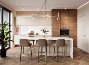 кухня в скандинавском стиле 014а