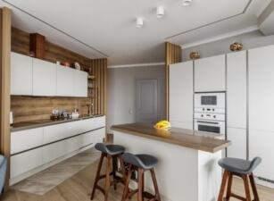 кухня в скандинавском стиле 016а