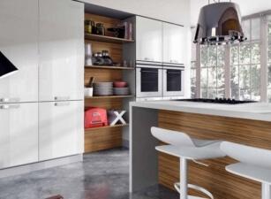 кухня в скандинавском стиле 028а