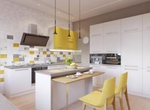 кухня в скандинавском стиле 031а