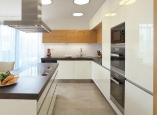 кухня в скандинавском стиле 033а