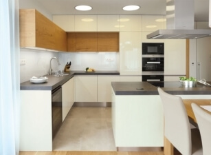 кухня в скандинавском стиле 034а