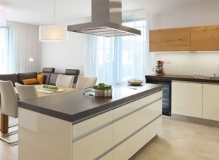 кухня в скандинавском стиле 035а