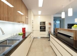 кухня в скандинавском стиле 043а