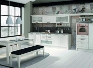 кухня в скандинавском стиле 054а
