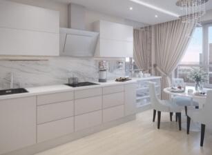 кухня в скандинавском стиле 056а