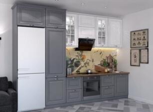 кухня в скандинавском стиле 058а