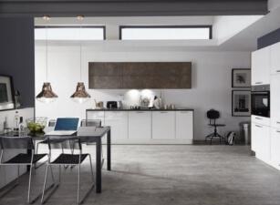 кухня в скандинавском стиле 059а