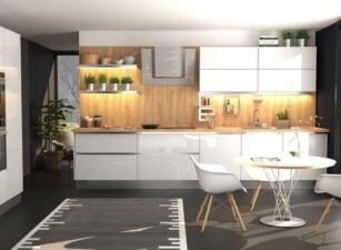 кухня в скандинавском стиле 060а