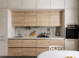 кухня в скандинавском стиле 062а