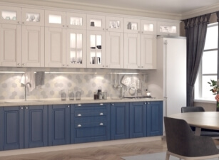 кухня в скандинавском стиле 070а