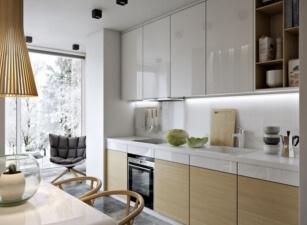 кухня в скандинавском стиле 072а