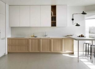 кухня в скандинавском стиле 073а