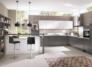 кухня в скандинавском стиле 095а