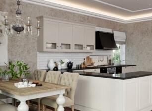кухня в скандинавском стиле 102а