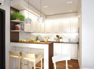 кухня в скандинавском стиле 105а