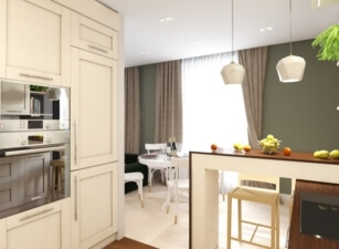 кухня в скандинавском стиле 106а