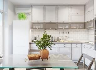 кухня в скандинавском стиле 124а