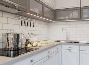 кухня в скандинавском стиле 125а