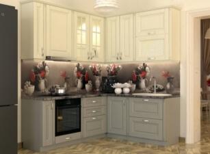 кухня в скандинавском стиле 126а