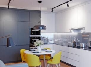 кухня в скандинавском стиле 127а