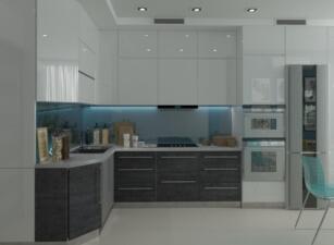 кухня в скандинавском стиле 139а