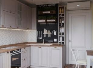 кухня в скандинавском стиле 142а