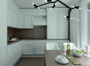 кухня в скандинавском стиле 143а