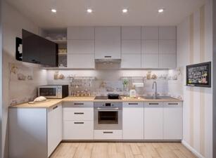 кухня в скандинавском стиле 144а