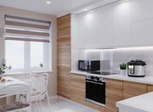 кухня в скандинавском стиле 147а
