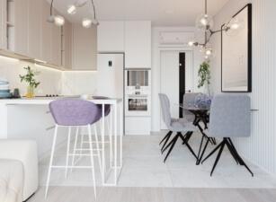 кухня в скандинавском стиле 153а