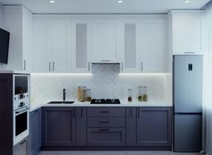 кухня в скандинавском стиле 156а