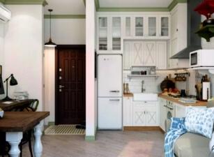 кухня в скандинавском стиле 160а