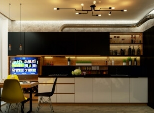 кухня в скандинавском стиле 164а