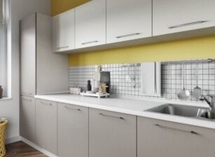 кухня в скандинавском стиле 166а