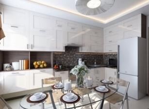 кухня в скандинавском стиле 168а