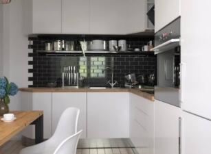 кухня в скандинавском стиле 180а