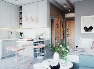 кухня в скандинавском стиле 183а