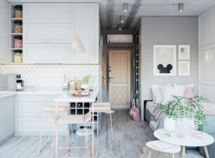 кухня в скандинавском стиле 184а