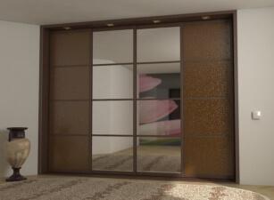 Зеркальный шкаф купе Проект 005а