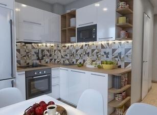 Кухня маленькая 096а