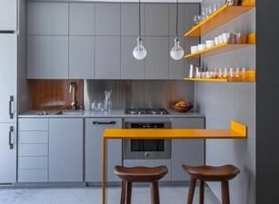 Кухня маленькая 009а