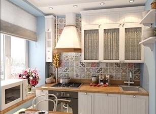Кухня маленькая 001а