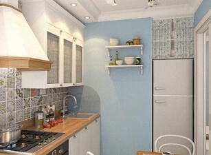 Кухня маленькая 002а