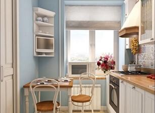 Кухня маленькая 003а
