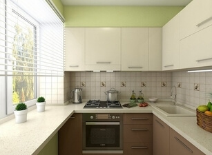 Кухня маленькая 007а